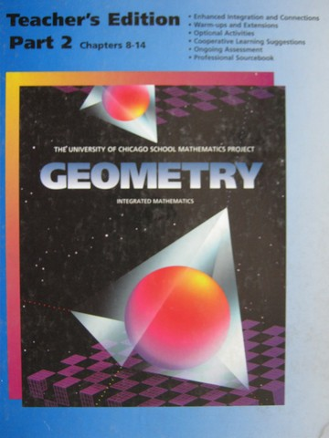 UCSMP Geometry 2nd Edition TE Part 2 Chapters 8-14 (TE)(H)
