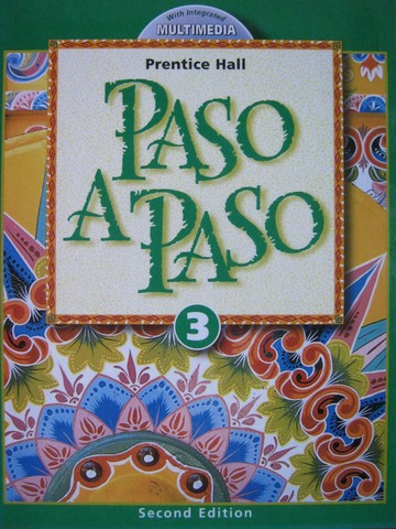 Paso a Paso 3 2nd Edition (H) by Met, Sayers, & Wargin