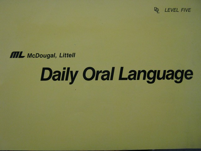 Daily Oral Language 5 TG (TE)(Spiral) by Vail & Papenfuss