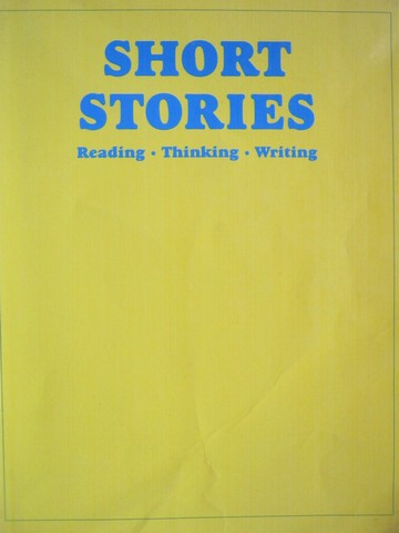 Short Stories Reading Thinking Writing (P) by Panman & Panman