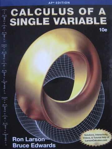 Calculus of a Single Variable 10th Edition AP Edition (H)