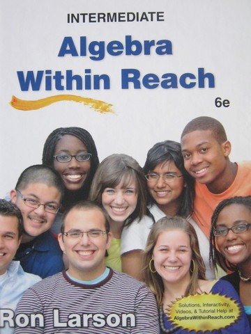 Intermediate Algebra within Reach 6th Edition (H) by Ron Larson