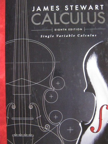Calculus Single Variable Calculus 8th Edition (H) by Stewart