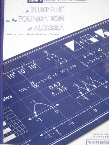 A Blueprint for the Foundation of Algebra TE Volume 2 (TE)(H)