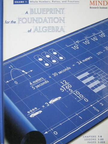 A Blueprint for the Foundation of Algebra Volume 1 (H)