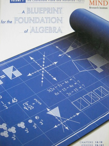 A Blueprint for the Foundation of Algebra Volume 3 (H)