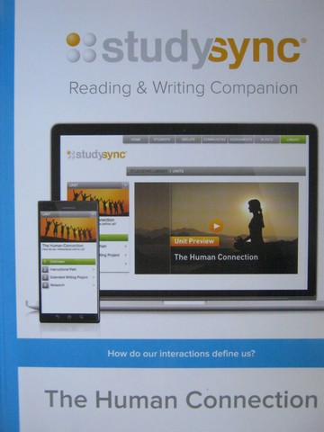 Studysync 10.4 Reading & Writing Companion (P)