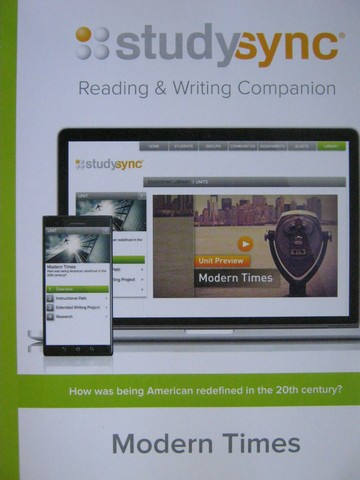 Studysync 11.3 Reading & Writing Companion (P)