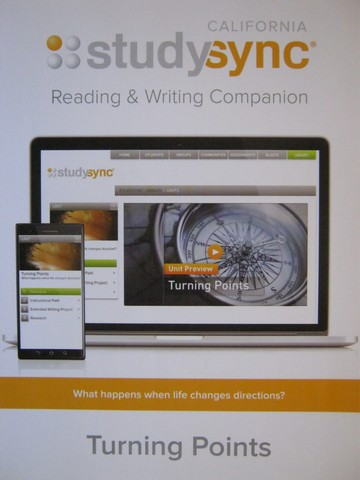 Studysync 6.1 Reading & Writing Companion (CA)(P)