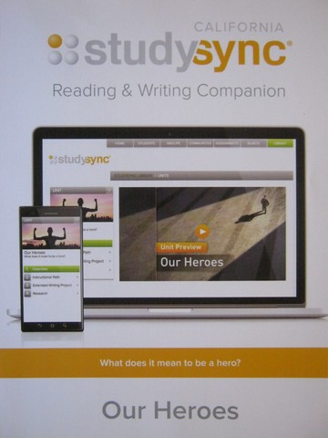 Studysync 6.4 Reading & Writing Companion (CA)(P)