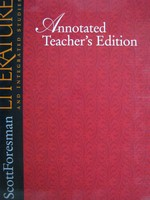 Literature & Integrated Studies 6 ATE Set (TE)(Pk) by Purves,