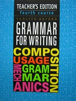 Grammar for Writing 4th Course TE (TE)(P) by Goldenberg,