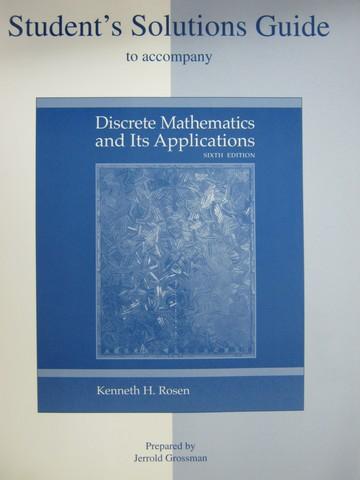 discrete mathematics and its applications answers pdf