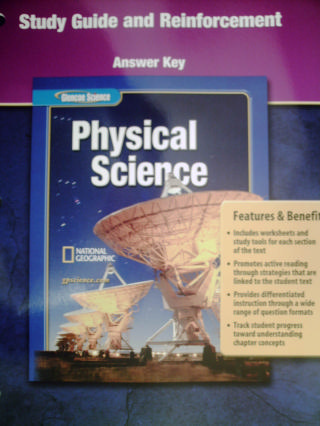Glencoe Physical Science Study Guide & Reinforcement Answer (P)
