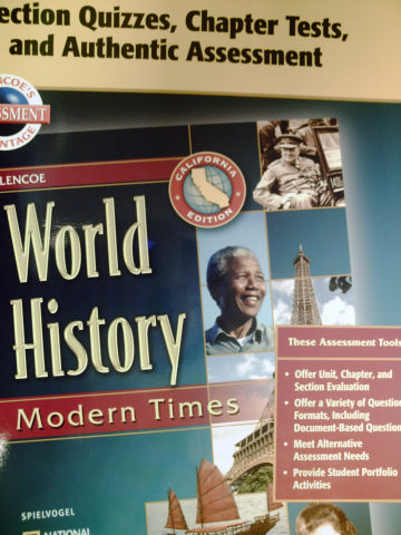 World History Modern Times Section Quizzes (CA)(P)