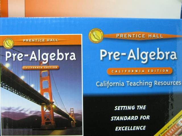 Pre-Algebra Tools for a Changing World TR (CA)(TE)(PK)