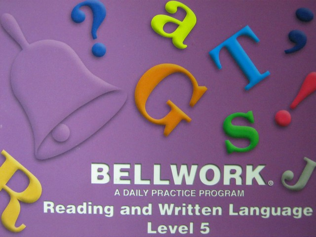 Bellwork Reading & Written Language 5 (P) by Anne Gall