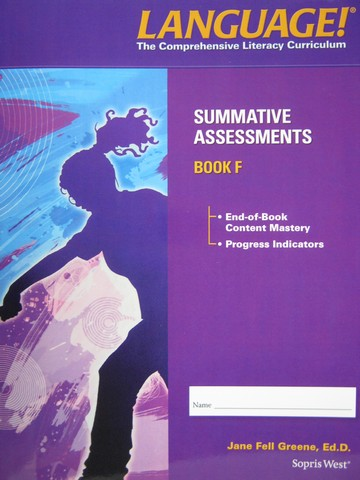 Language! 4th Edition F Summative Assessments (P) by Greene
