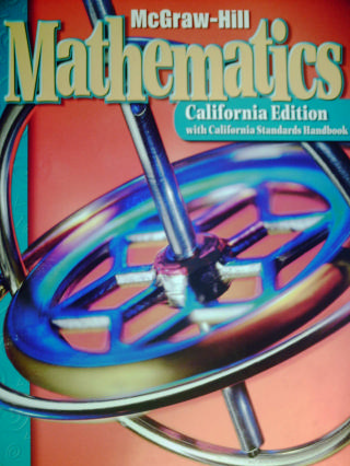 McGraw-Hill Mathematics 5 California Edition (CA)(H) by Carlsson