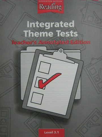 Reading 3.1 Integrated Theme Tests TAE (TE)(P)