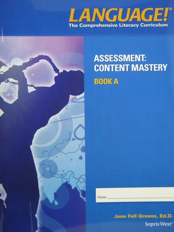 Language! 4th Edition A Content Mastery (P) by Greene