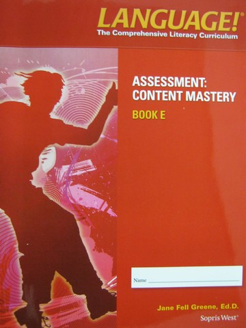 Language! 4th Edition E Content Mastery (P) by Greene