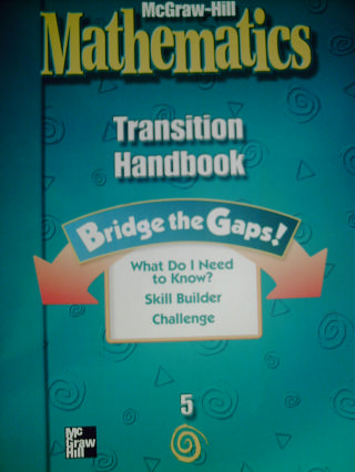 McGraw-Hill Mathematics 5 Transition Handbook (P)