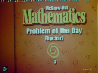 McGraw-Hill Mathematics 3 Problem of the Day Flipchart (Spiral)