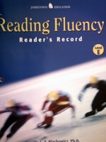 Reading Fluency E Reader's Record (P) by Blachowicz