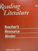 Reading Literature Red Level 7 TRB (TE)(Binder)