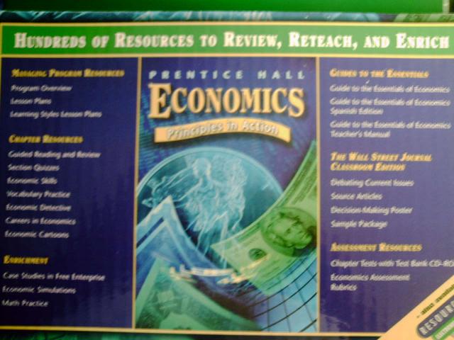 prentice hall economics answer key
