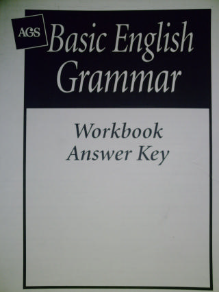 basic english grammar workbook with answers pdf