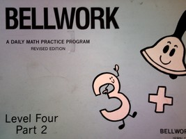 Bellwork Math Level 4 Part 2 Revised Edition (P) by DePue/