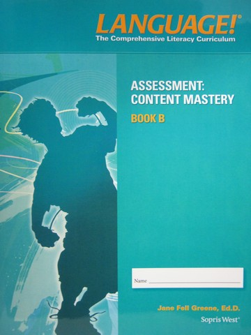 Language! 4th Edition B Content Mastery (P) by Greene