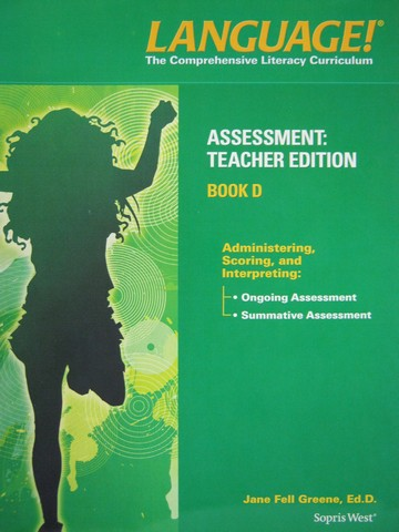 Language! 4th Edition D Assessment TE (TE)(P) by Greene