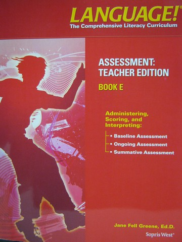 Language! 4th Edition E Assessment TE (TE)(P) by Greene