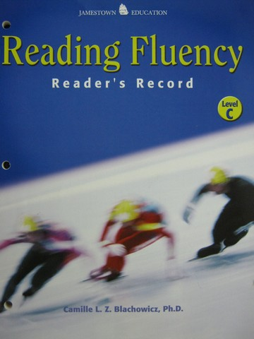 Reading Fluency C Reader's Record (P) by Blachowicz