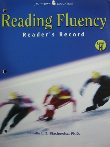 Reading Fluency H Reader's Record (P) by Blachowicz