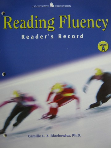 Reading Fluency A Reader's Record (P) by Blachowicz