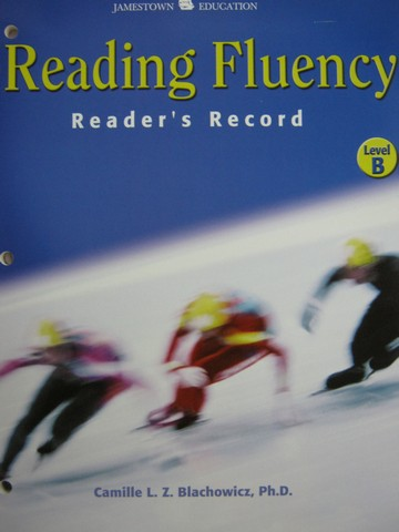Reading Fluency B Reader's Record (P) by Blachowicz