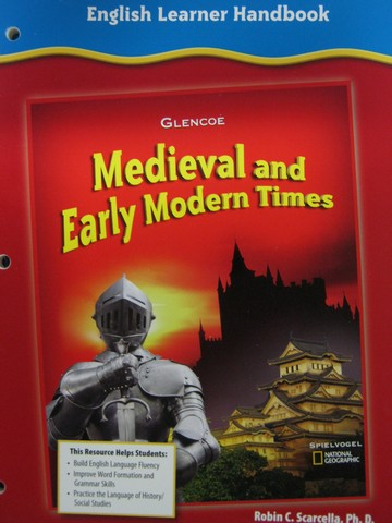 Medieval & Early Modern Times English Learner Handbook (P)