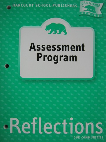 Reflections 3 Assessment Program (CA)(P)