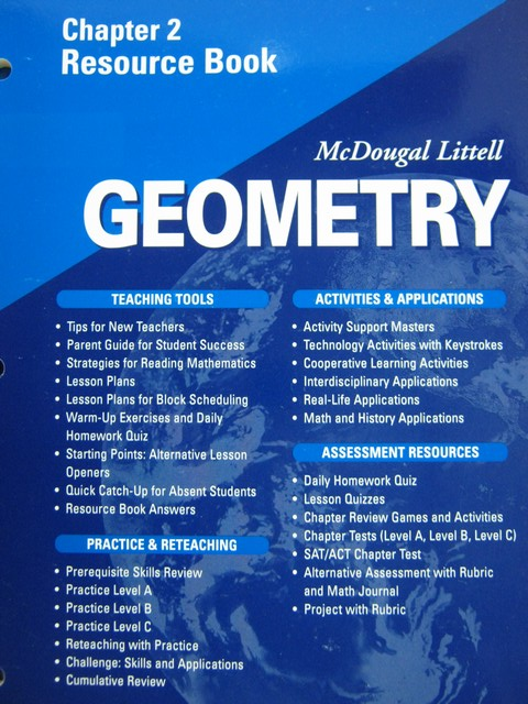 Geometry Applying Reasoning Measuring Chapter 11 Resource ...