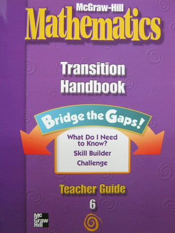McGraw-Hill Mathematics 6 Transition Handbook TG (TE)(P)