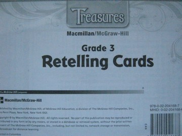 Treasures 3 Retelling Cards (Pk)