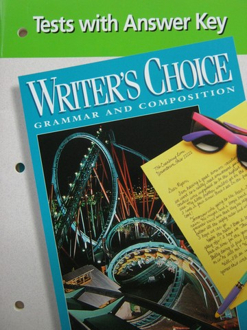 Writer's Choice 6 Tests with Answer Key (P)