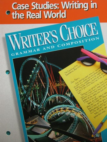 Writer's Choice 6 Case Studies Writing in Real World (P)