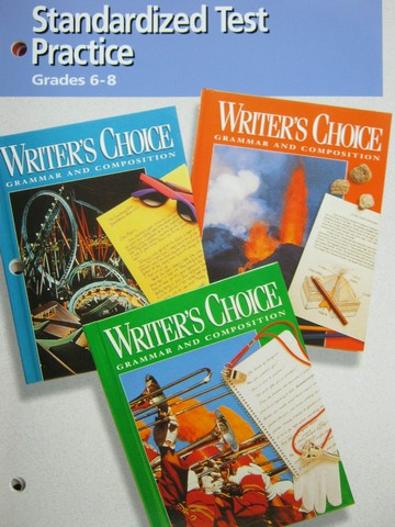 Writer's Choice Grades 6-8 Standardized Test Practice (P)