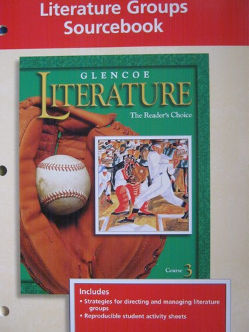 Reader's Choice Course 3 Literature Groups Sourcebook (P)