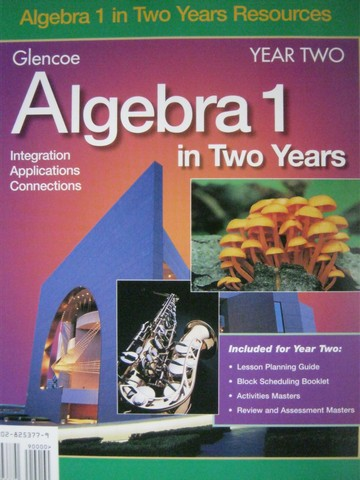 Algebra 1 Integration Applications Connections Year 2 (Binder)